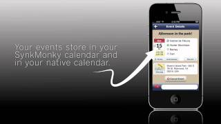 SynkMonkey - Social Calendar YouTube video
