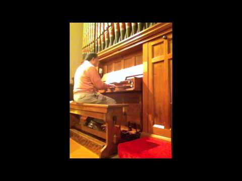 rjstove - Pastór de Lasala plays the Praeludium on 'Sei Lob und Ehr dem höchsten Gut' from the Clavierübung of J-L Krebs. The work is played on the historic 1882 Forst...