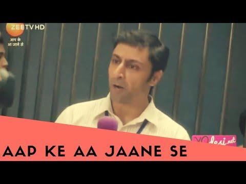 "Cameo ""Aap Ke aa Jaane se"" Zee TV. As a reporter"