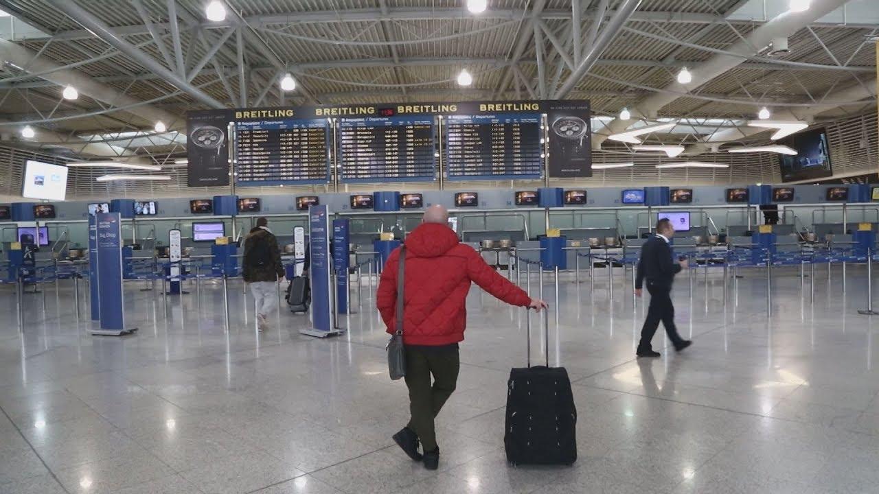 Άδειο το αεροδρόμιο Ελευθέριος Βενιζέλος