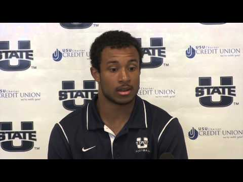 Chuckie Keeton - Utah State/Utah Press Conference video.
