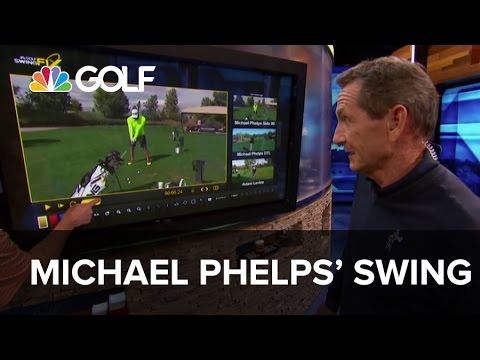 Michael Phelps' Swing – Lesson Tee Live | Golf Channel