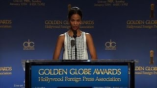 '12 Years a Slave,' 'American Hustle' top Globe nods