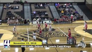 Rochester Girls Basketball vs Lewis Cass