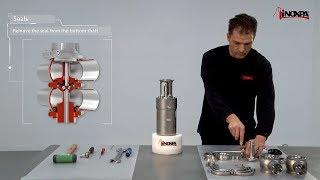 Demontáž sedla ventilu INNOVA typu - P