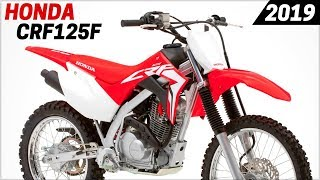 10. NEW 2019 Honda CRF125F And CRF125F Big Wheel
