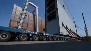 Video Sarens transport gates for the Panama Canal MP3, 3GP, MP4, WEBM, AVI, FLV Agustus 2017
