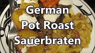 How to make Sauerbraten ~ Crock Pot Friendly by Louisiana Cajun Recipes