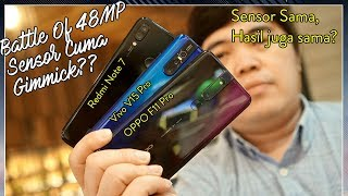 Download Video Adu Kamera 48MP: OPPO F11 Pro vs Vivo V15 pro vs Redmi Note 7 MP3 3GP MP4