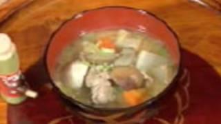 How to Make Tonjiru (Japanese Pork&Vegetable Miso Soup) 豚汁の作り方