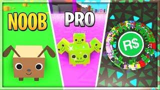 NOOB vs PRO vs ROBUX SPENDER | Pet Simulator