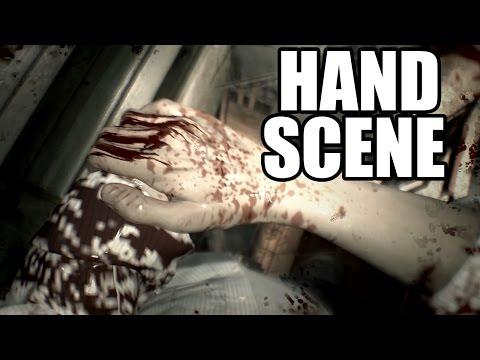 RESIDENT EVIL 7 - Hand Cut Off Scene