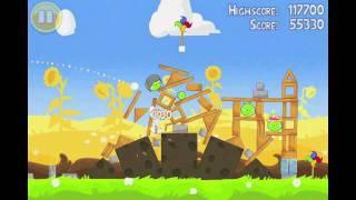 Angry Birds Seasons Summer Pignic Level 27 Walkthrough 3 Star