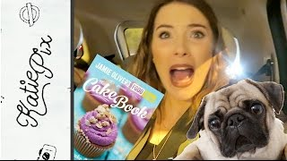 HOW TO MAKE A CAKE IN A CAR | Vlog 016 | Katie Pix by Katie Pix