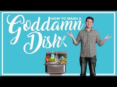 How to Wash Your Dishes