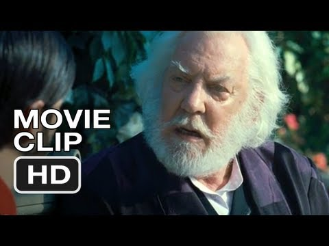 Hunger Games #4 Movie CLIP - President Snow Scene (2012) HD Video