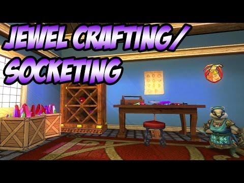 Wizard101: Basics of Jewel Crafting and Socketing видео