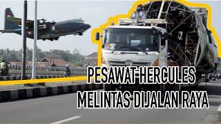 Video Satuan Polisi Militer Lanud Adisutjipto Pengawal Fuselage Pesawat C-130 Hercules A-1301 MP3, 3GP, MP4, WEBM, AVI, FLV November 2017