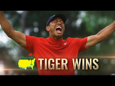 Tiger Woods Wins The 2019 Masters Highlights