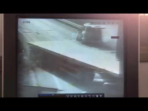 צפו בתאונת הדרכים הקטלנית בשומרון