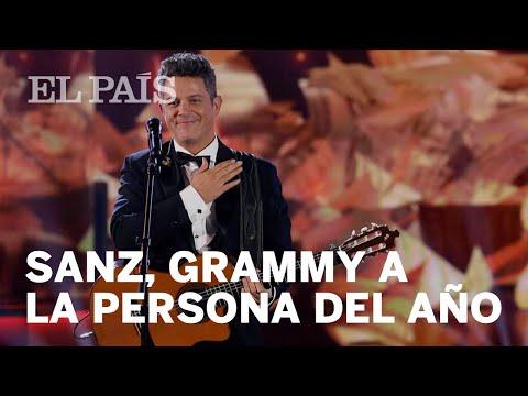 Alejandro Sanz recibe el Grammy Latino a la Persona del Año | Cultura