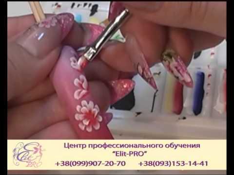 Китайская роспись ногтей. Учебный DVD. ЦПО