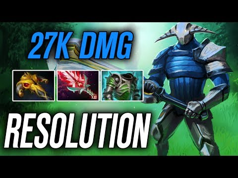 Resolution • Sven • 27K DMG — Pro MMR