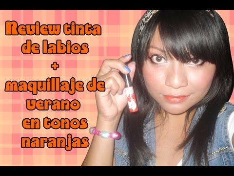 ♥ Review tinta de labios Miumiku miau + maquillaje de verano ♥