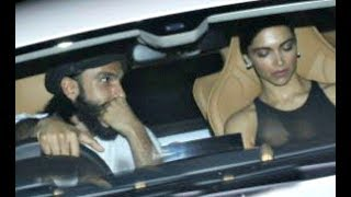 Deepika Padukone Goes On Long Drive With Ranveer Singh On His Birthday - v