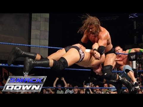 PUNK - Oct. 2, 2009 - The 10th Anniversary of SmackDown showcases the biggest Eight-Man Tag Team Match in the history of it's show.