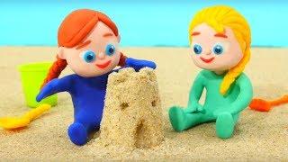 Video SUPERHERO BABIES MAKE SAND FIGURES ❤ Spiderman, Hulk & Frozen Play Doh Cartoons For Kids MP3, 3GP, MP4, WEBM, AVI, FLV September 2018