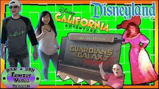 We spend the Day at Disney's California Adventure and Disneyland! We have to try out Guardians of the Galaxy Ride!! We meet...