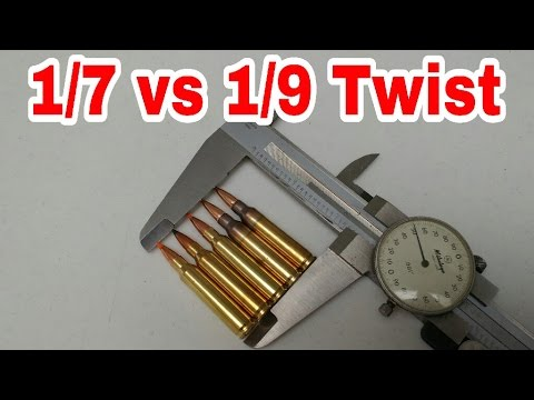 1/7 Vs 1/9 Twist Rate For AR15