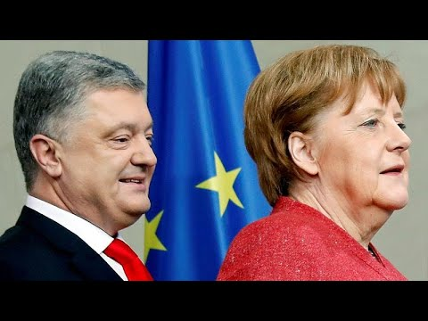 Ukraine: Wahlkampf von Präsident Poroschenko in Paris und Berlin