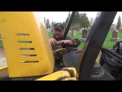 Driveway building and loader pin extraction (видео)