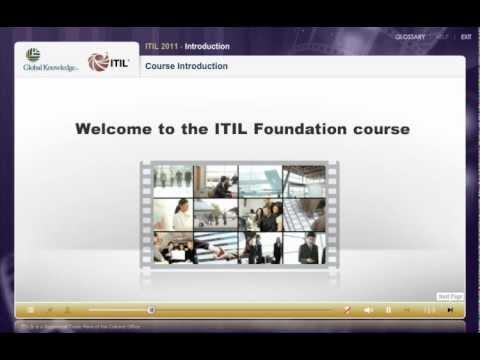 ITIL® Foundation e-Learning demonstration