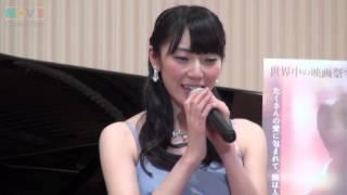 松井咲子(AKB48)/『光にふれる』公開記念イベント