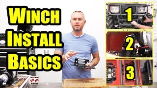 9. HOW TO INSTALL an ATV WINCH