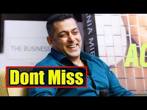 DON'T MISS: Finally Salman Khan Reveals His Marria