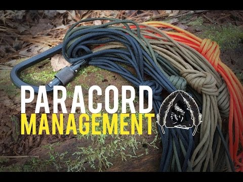 How to Paracord Management and Organization- Black Scout Tutorials