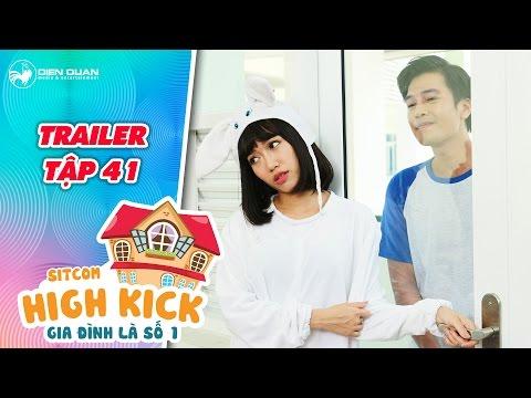 Gia đình là số 1 sitcom | trailer tập 41: Diệu Nhi bối rối gọi điện cho Quang Tuấn trong cơn say - Thời lượng: 0:56.