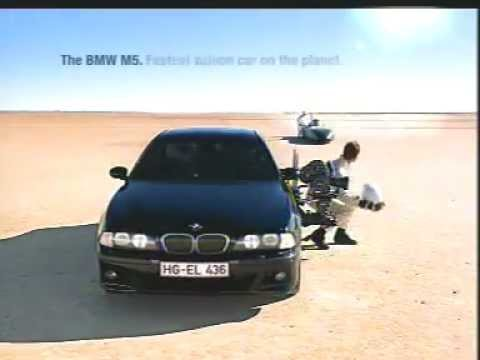 Banned commercials - BMW m5 commercial