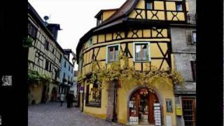 Riquewihr France  city images : Village de Riquewihr Ville - Haut-Rhin - ALSACE - FRANCE - Cat Stevens - Morning has Broken - HD/HQ