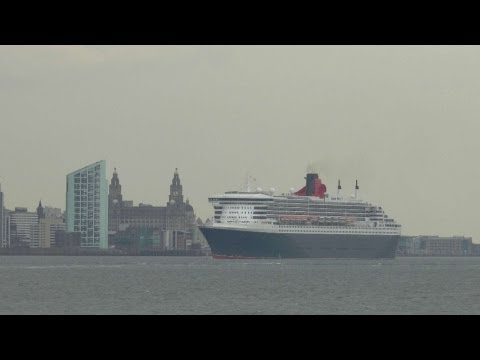 RMS Queen Mary 2 - Liverpool 17.5.13