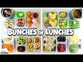 Video NO SANDWICHES! School LUNCH IDEAS for jk, 1st grader, 3rd grader 🍎 Bunches of Lunches WEEK 3