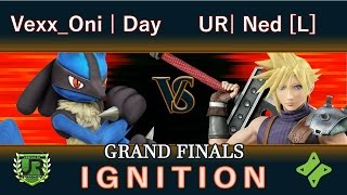 Ignition  33 GRAND FINALS – Vexx_Oni | Day (Lucario) vs UR| Ned (Cloud)