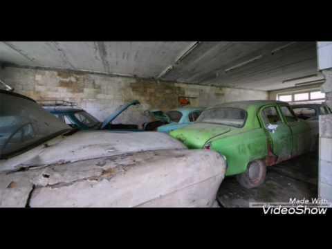 Заброшенные автомобили времён СССР 1