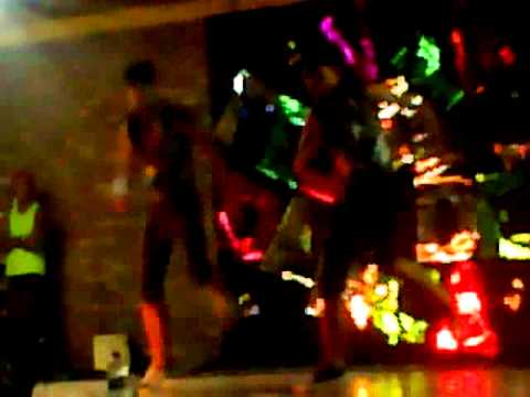 Os clones, dançarinos de Propriá-Sergipe em Malhada dos Bois próximo a Cruz da Donzela.