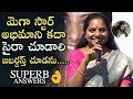 Kalvakuntla Kavitha Superb Answers To Her Fans Questions | Chiranjeev