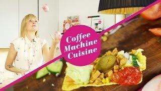 コーヒーメーカーで作った料理を紹介するチャンネル